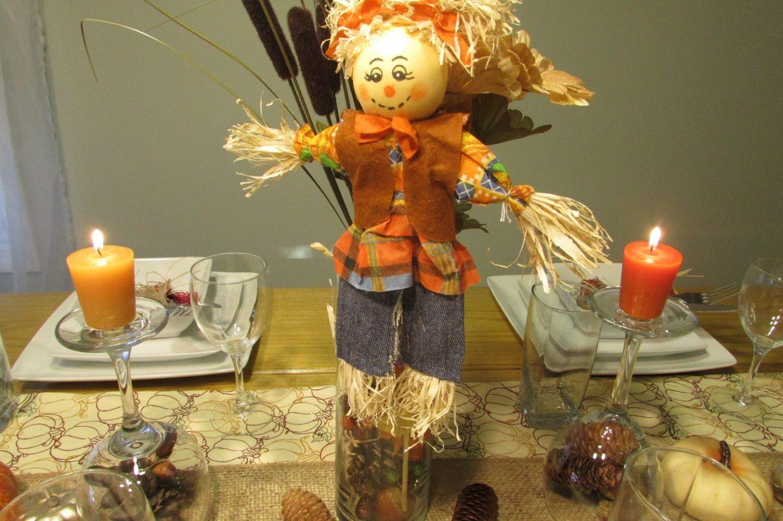 thanksgiving decorations vase