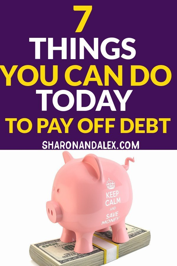 Living with debt is no fun. It causes stress, unhappiness and often prevents us from doing the things we really want to do. Here are 7 things you can do right now to pay off your debt and start living your dreams.
