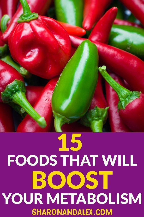 Metabolism is an important part of our fitness and overall health. These 15 foods will help boost your metabolism and help you be the best you.