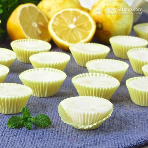 Keto Fat Bombs - Easy Lemon Fat Bombs