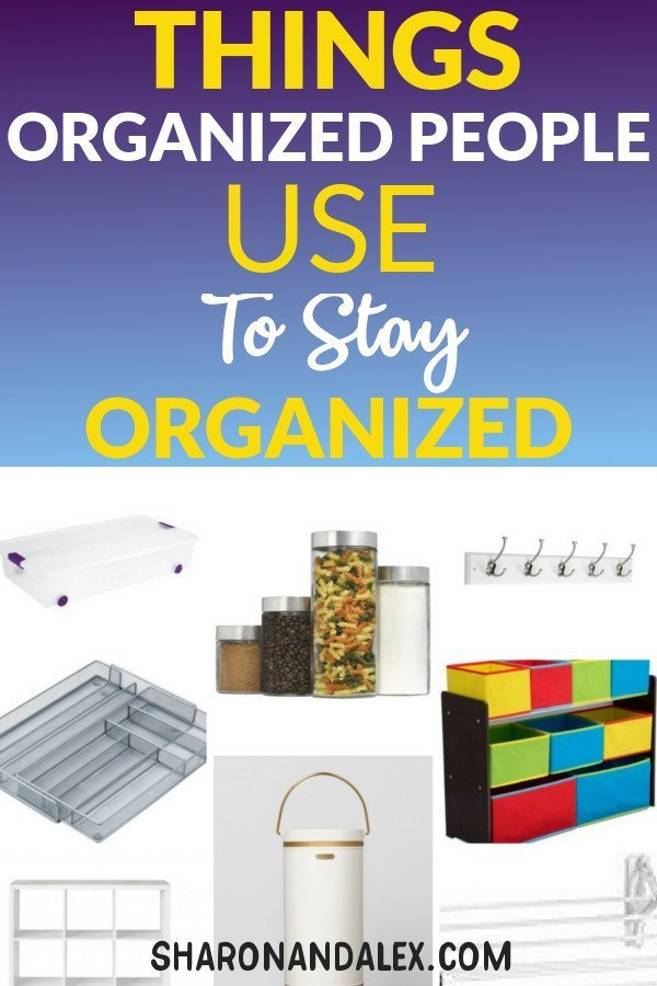Organization products you need to keep an organized home just like super organized people do! #organization #organizedhome #organizationproducts #getorganized