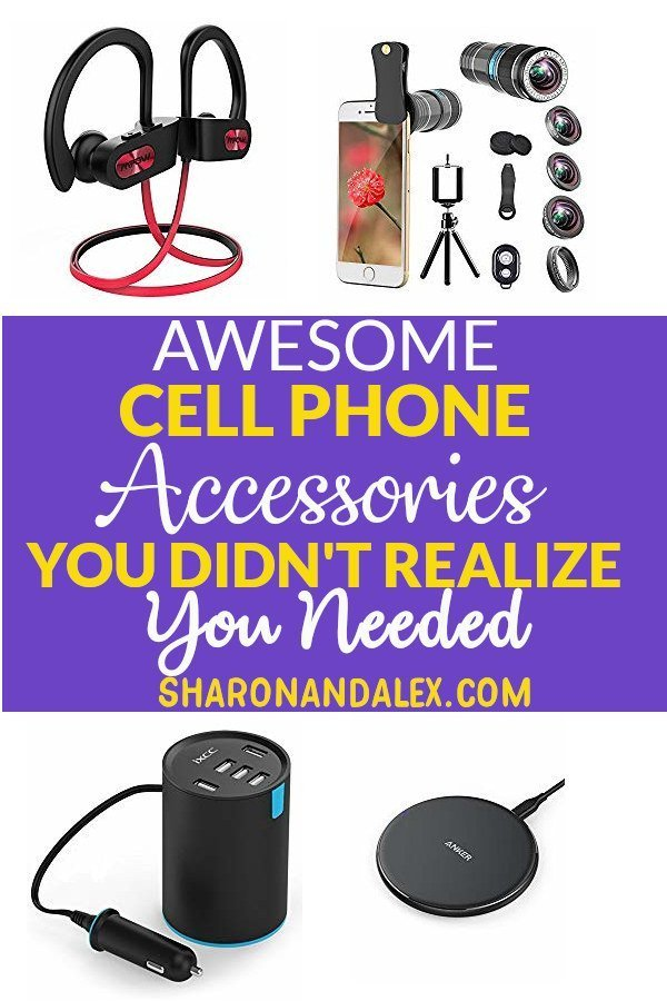 If you love gadgets, you need to check out this list of cool cell phone accessories. Fun and function meet in the middle with products to increase storage, charge faster and take amazing photos! #cellphones #tech #gadgets #cellphoneaccesories