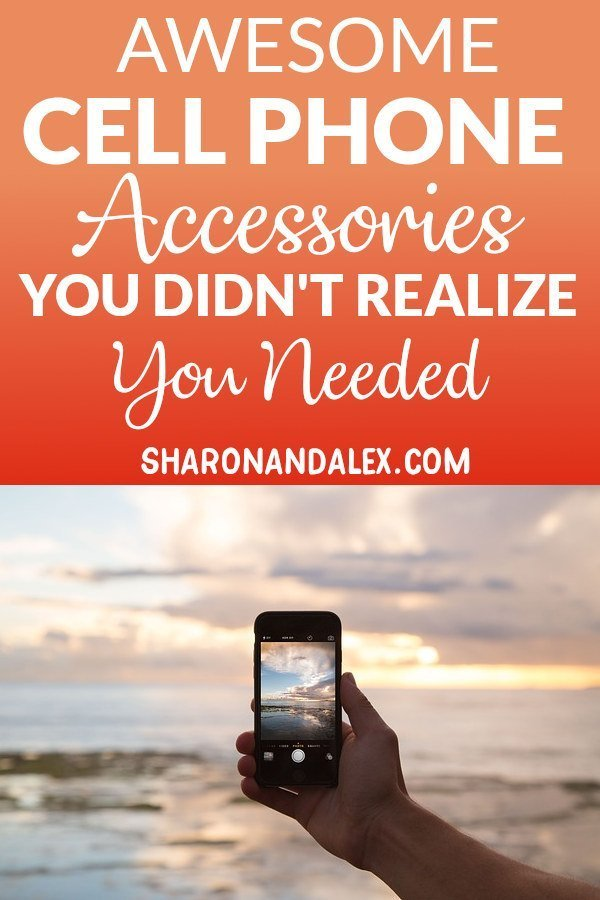 Smart cell phone accessories are fun and functional! Check out these cool products for your cell phone for increasing storage, faster charging, taking awesome photos and more! #cellphones #phoneaccessories #tech #gadgets #cellphonegadgets