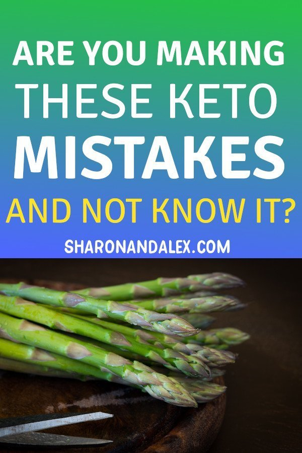 The ketogenic diet is a lifestyle change. There are adjustments you'll have to make. Avoid these common keto mistakes and maximize your chances for success! #keto #ketodiettips #ketogenicdiet #ketomistakes #healthyliving #healthandfitness