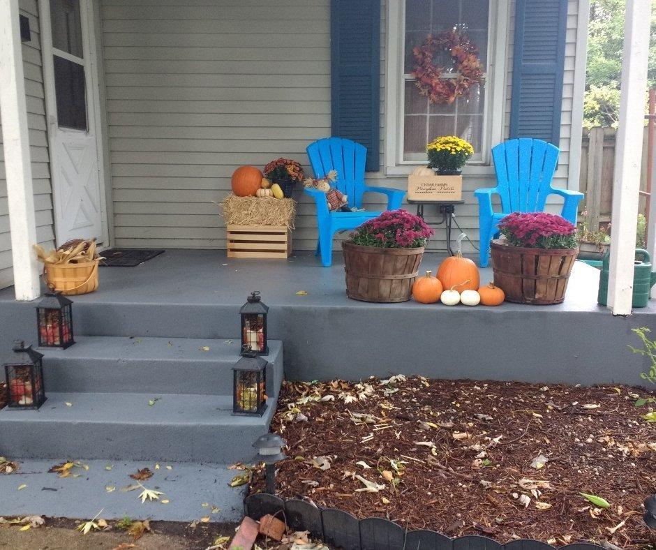 Paint a concrete porch