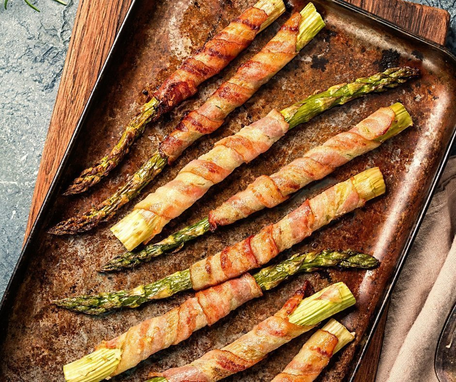 Asparagus Bacon Recipes for the Keto Diet