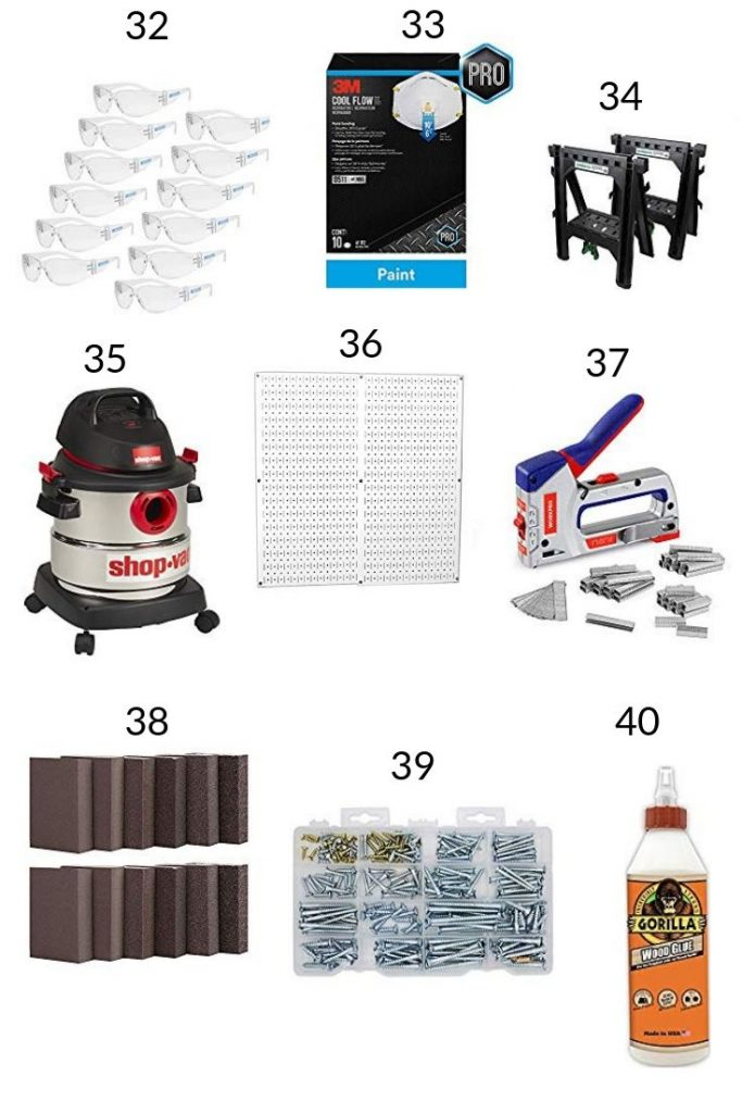 Miscellaneous items for DIY projects