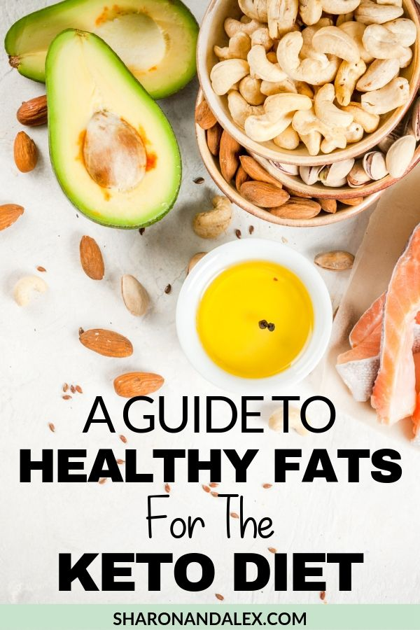 Healthy Fats for the Keto Diet