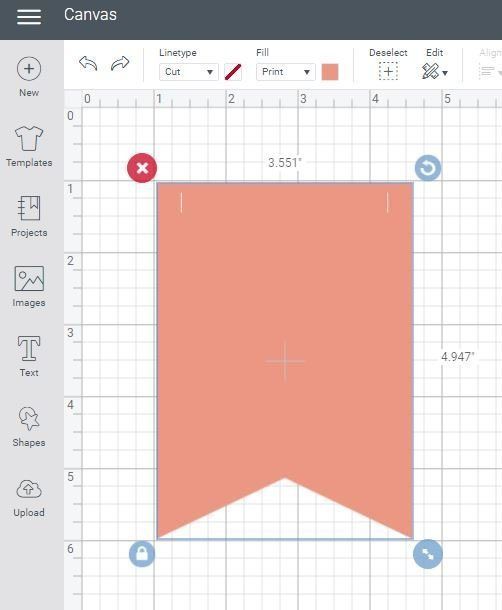 Cricut Design Space Choose Shape