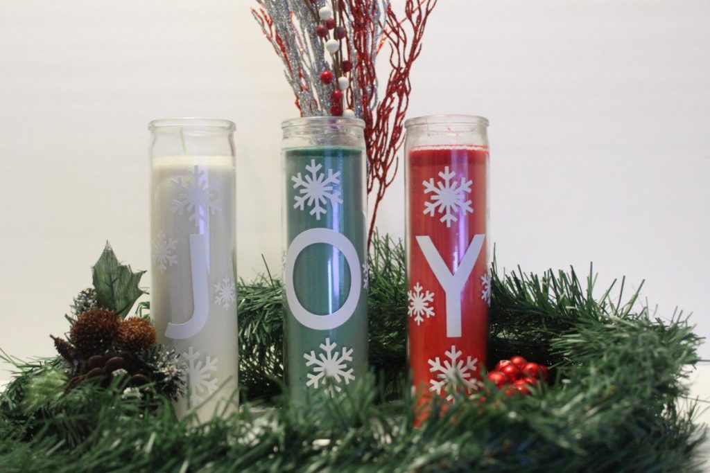 Dollar Tree Christmas Candles